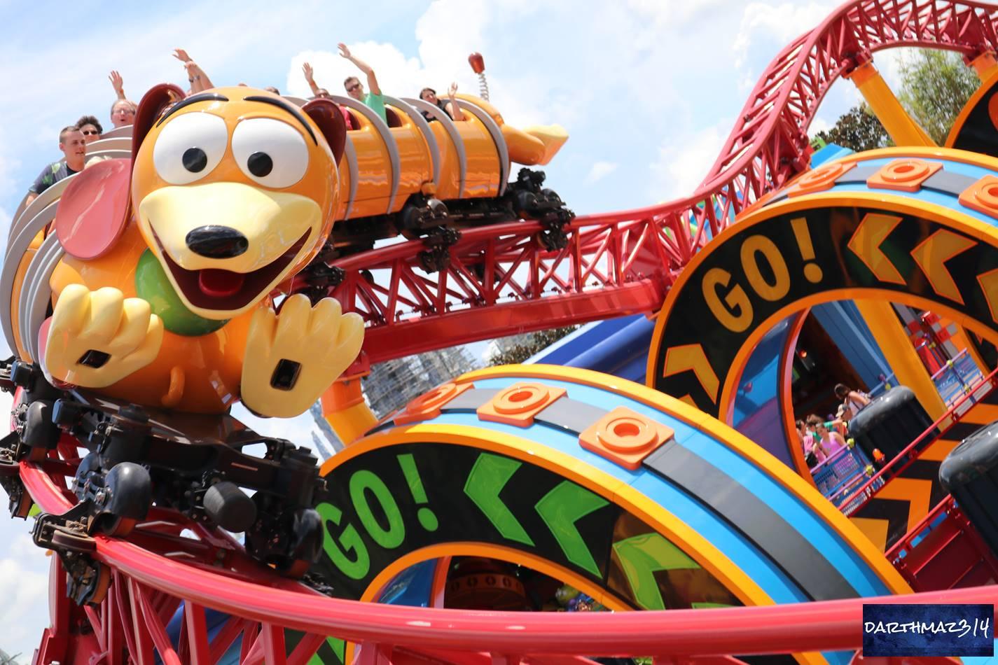 darthmaz314: Slinky Dog Dash Full POV Ride-Through - darthmaz314 Walt  Disney World Video Featurette