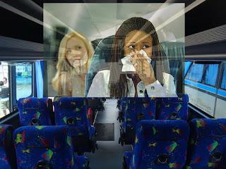 bahaya kesehatan naik bus ber-AC