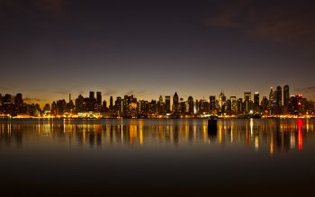 Wallpaper: New York City Skyline