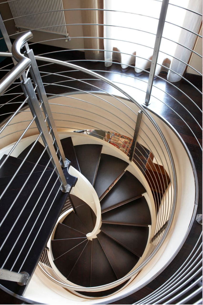 Seperti semua Spiral Tangga Modern, product ini dapat tawarkan kemungkinan kustomisasi yang luas :