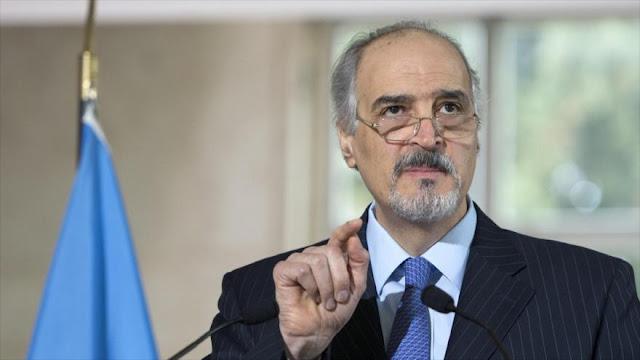 Al-Yafari: Apoyo de Israel a terroristas agrava la crisis siria