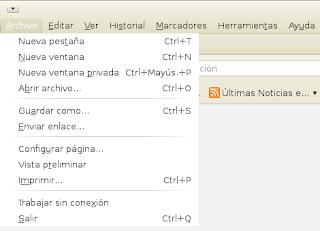 Ejemplo de captura de pantalla