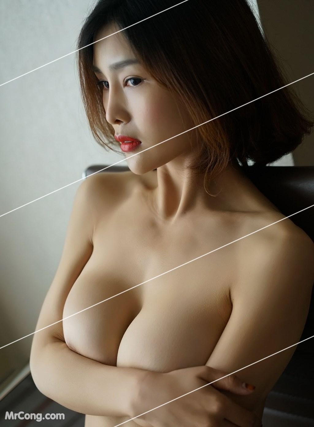 Image Yan-Pan-Pan-Part-3-MrCong.com-038 in post Ngắm vòng một siêu gợi cảm với nội y của người đẹp Yan Pan Pan (闫盼盼) (51 ảnh)