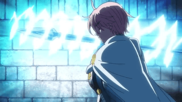Dalam bertarung, Gilthunder selalu mengaliri pedangnya dengan aliran listrik