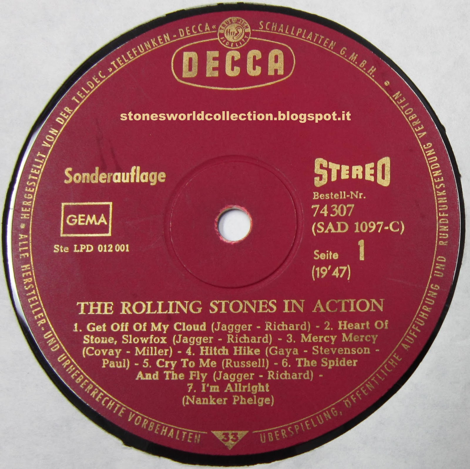 Stonesworldcollection The Rolling Stones In Action