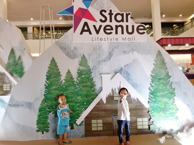 Anak-anak Fefeling Snow Kat Star Avenue !