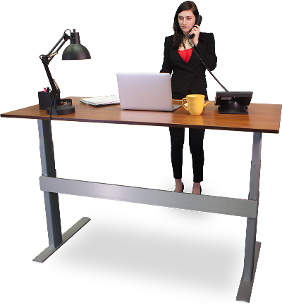standing desk benefits research