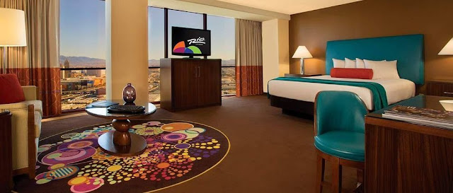 At Rio All-Suite Hotel and Casino Las Vegas, every room is a spacious suite! Book your stay and leave your inhibitions at home.