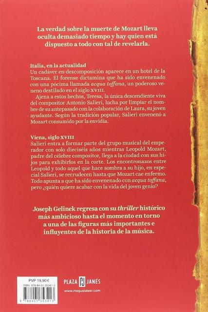 Joseph Gelinek - Las dos muertes de Mozart