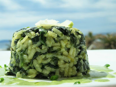 Gurmanski rižot od blitve / Delicious mangel risotto