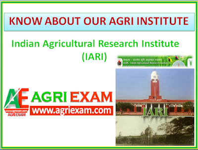 IARI India's premier National Institute for Agricultural Research, Education & Extension Indian Agricultural Research Institute is famous as PUSA Institute