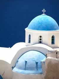 Imagen típica de las Islas Griegas