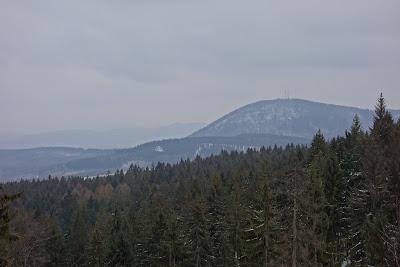 Chełmiec widok spod Trójgarbu