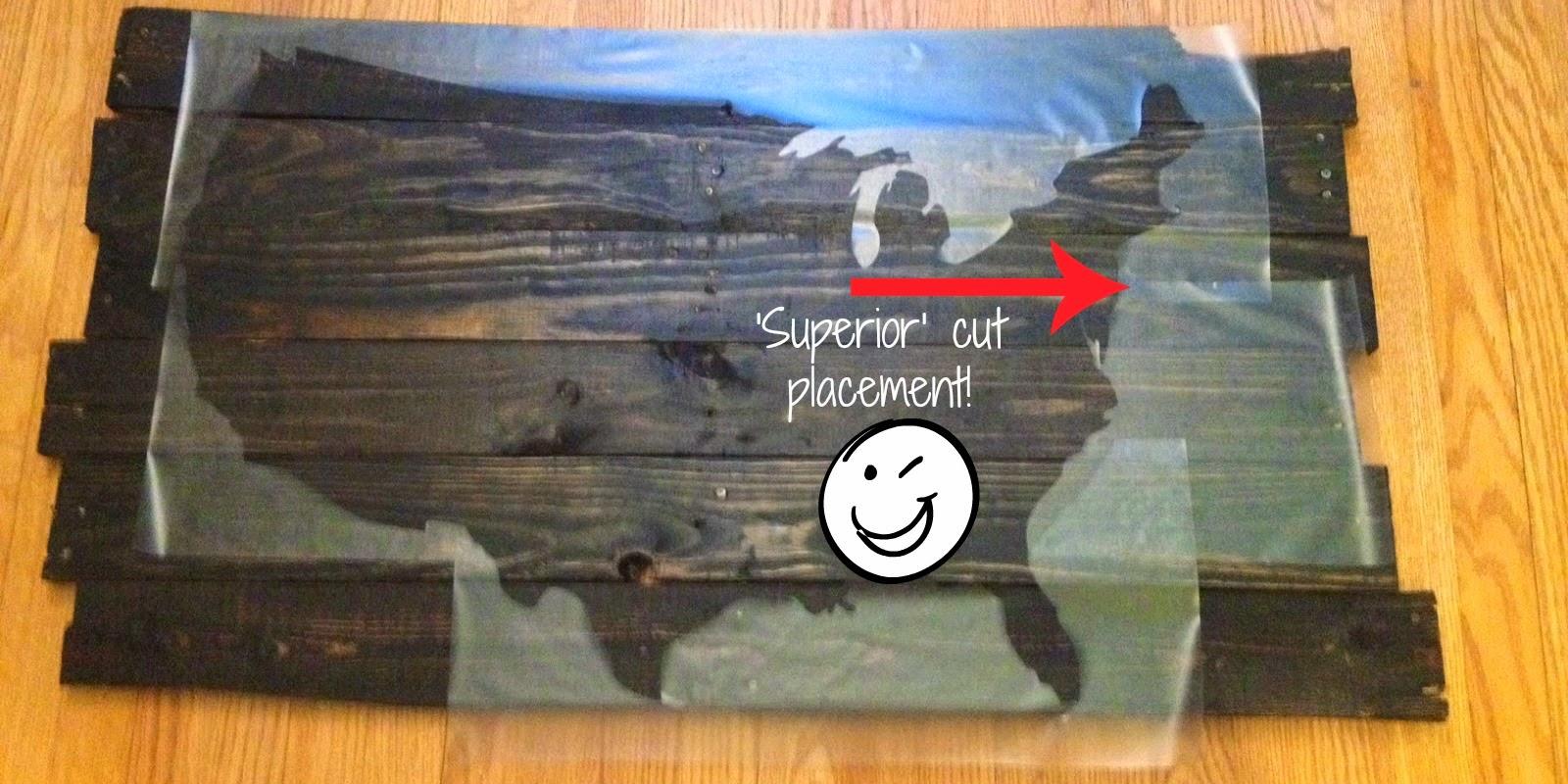 Stencils, decals, Silhouette, cutting, tricks, tips, wood, pallet
