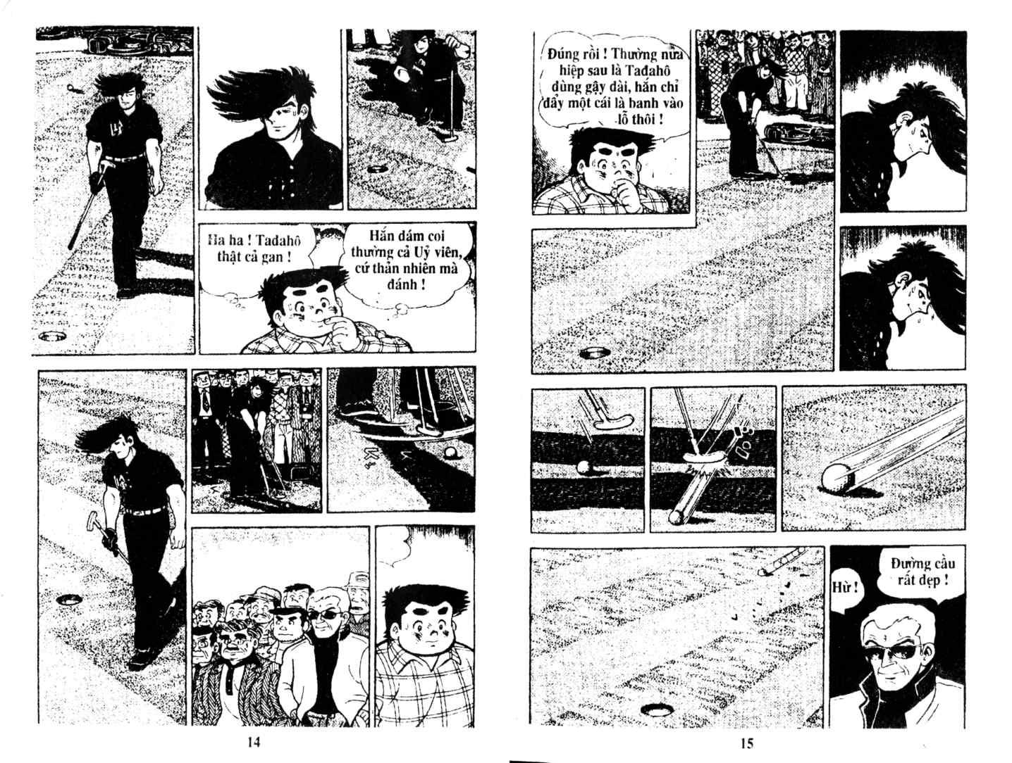Ashita Tenki ni Naare chapter 9 trang 6