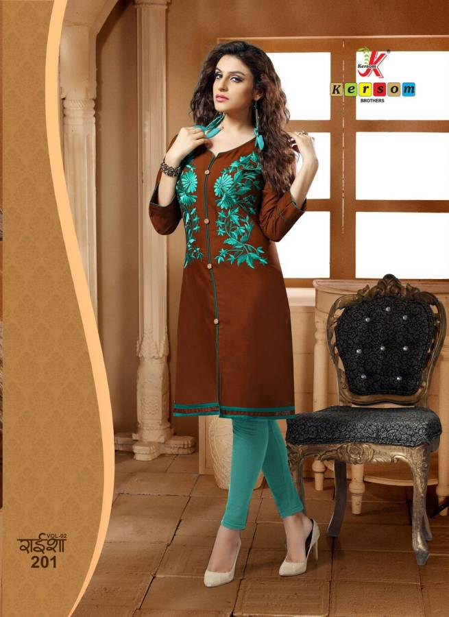 Kersome Raisha 2 – Latest New Designer Stylish And Fancy Kurti