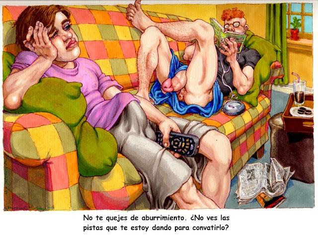 Dibujos gays follando