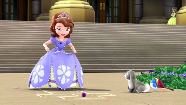 Watch Sofia the First Can talk to animals feature The curse of Princess Ivy with Princesses Sofia and Amber, Prince James, Clover the rabbit