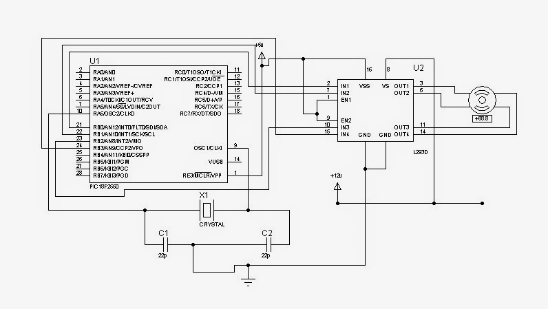 Bipolar Stepper Motor Interfacing With PIC Microcontroller