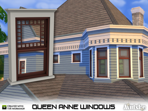 My sims 4 blog queen anne windows by mutske for Queen anne windows
