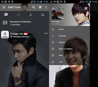 BBM Mod Lee Min Ho