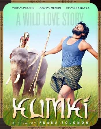 Poster Of Kumki 2012 Hindi Dual Audio 650MB UNCUT HDRip 720p HEVC Free Download Watch Online downloadhub.in