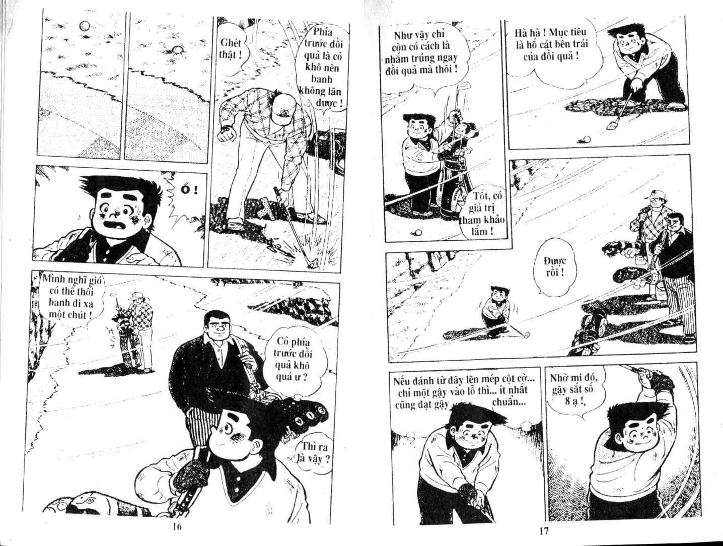 Ashita Tenki ni Naare chapter 17 trang 6