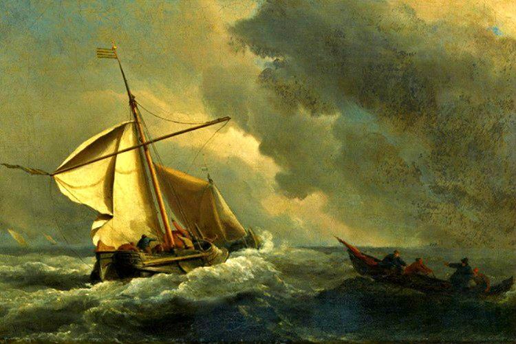 Gemideki patlama riski geçene kadar filikanın içinde duracaklar ve sonra tehlike geçince gemiye geri çıkacaklardı.