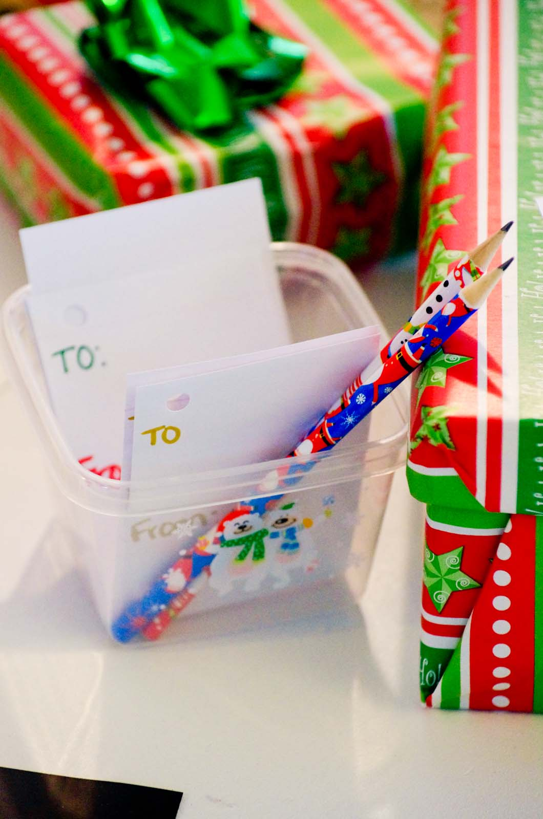 Gift Wrap Dramatic Play