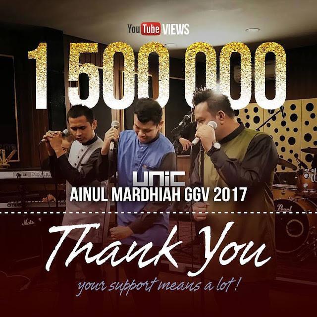 Lagu Ainul Mardhiah diberi nafas baru dari UNIC