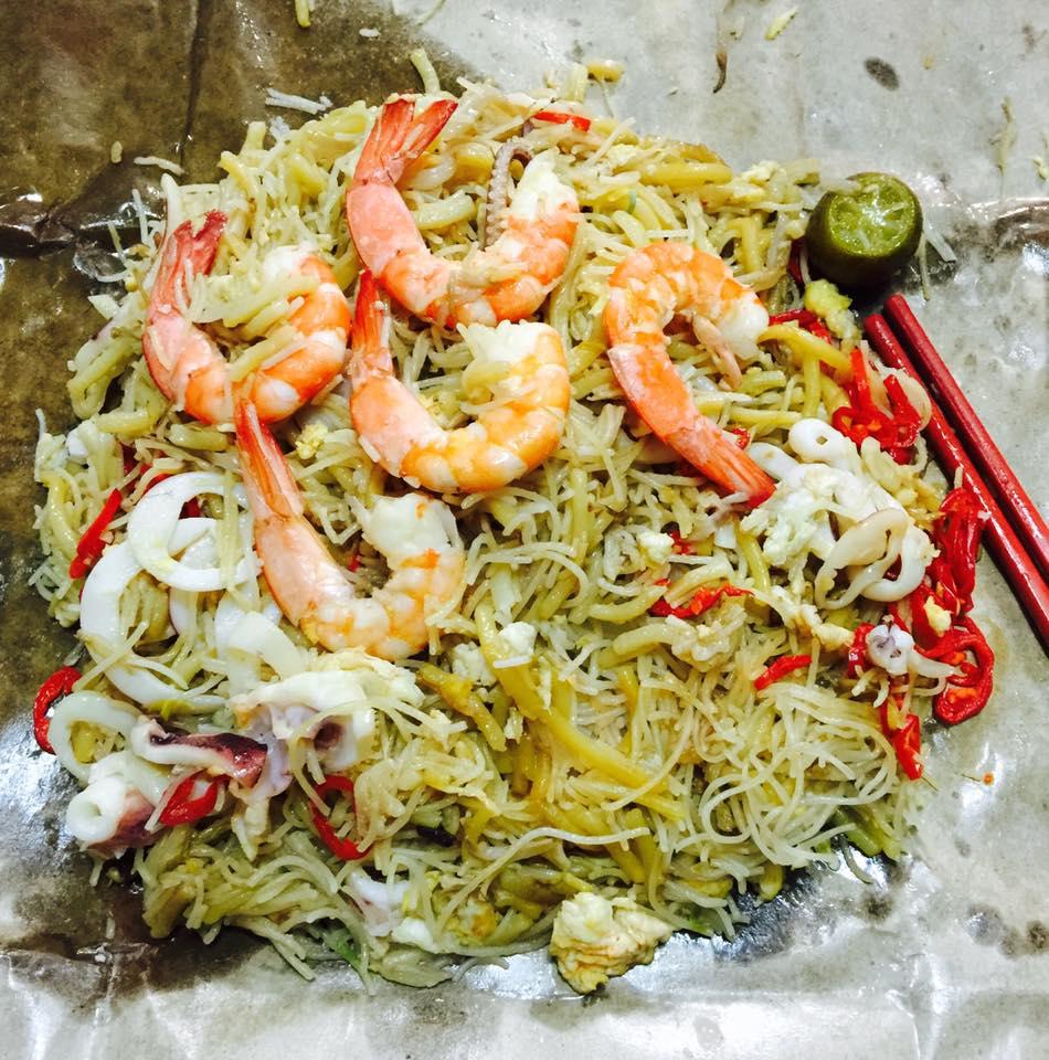 Singapore Fried Hokkien Prawn Sotong Noodle