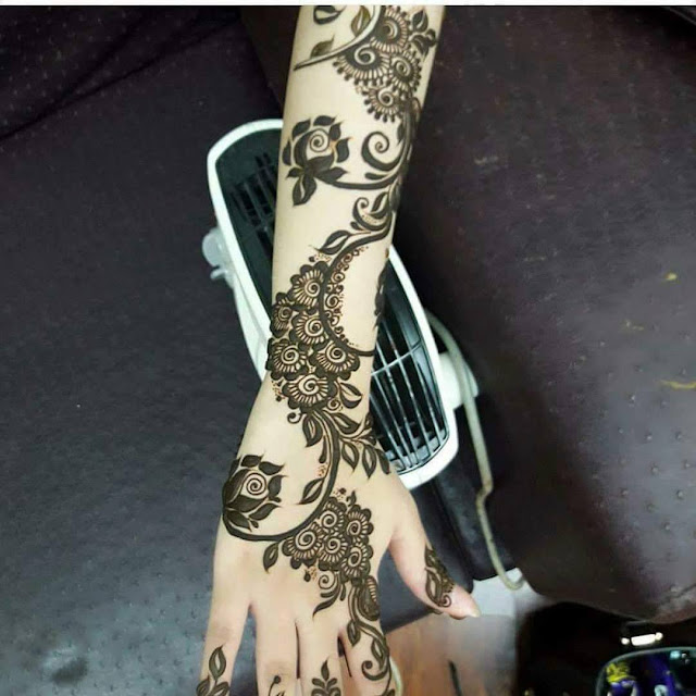 Bridal Mehandi Designs for Hands 8