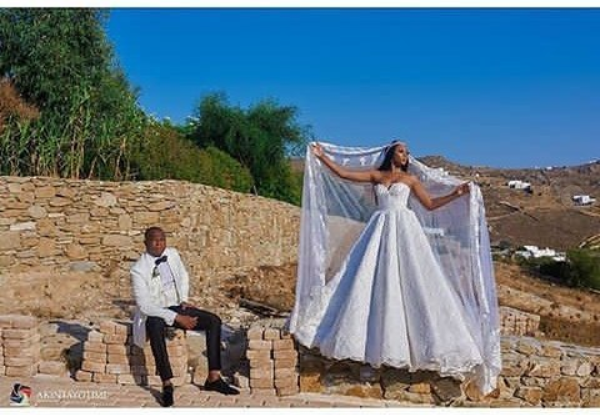Stephanie coker and Olumide Aderinokun's wedding