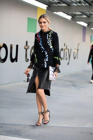 The Olivia Palermo Lookbook Olivia Palermo At Milan Fashion Week V