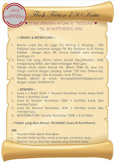 Lomba Menulis Flash Fiction