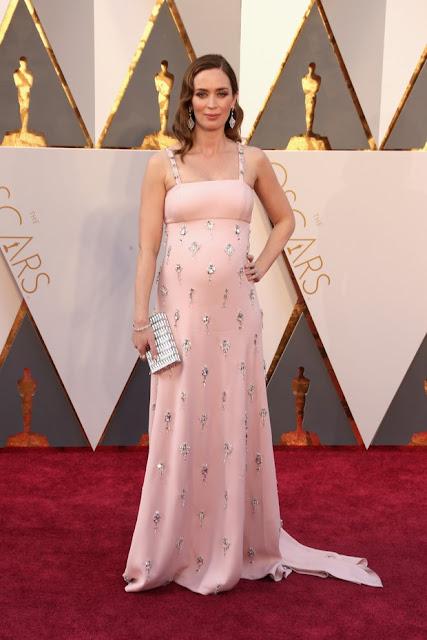 Emily Blunt, vestido rosa , Oscar 2016