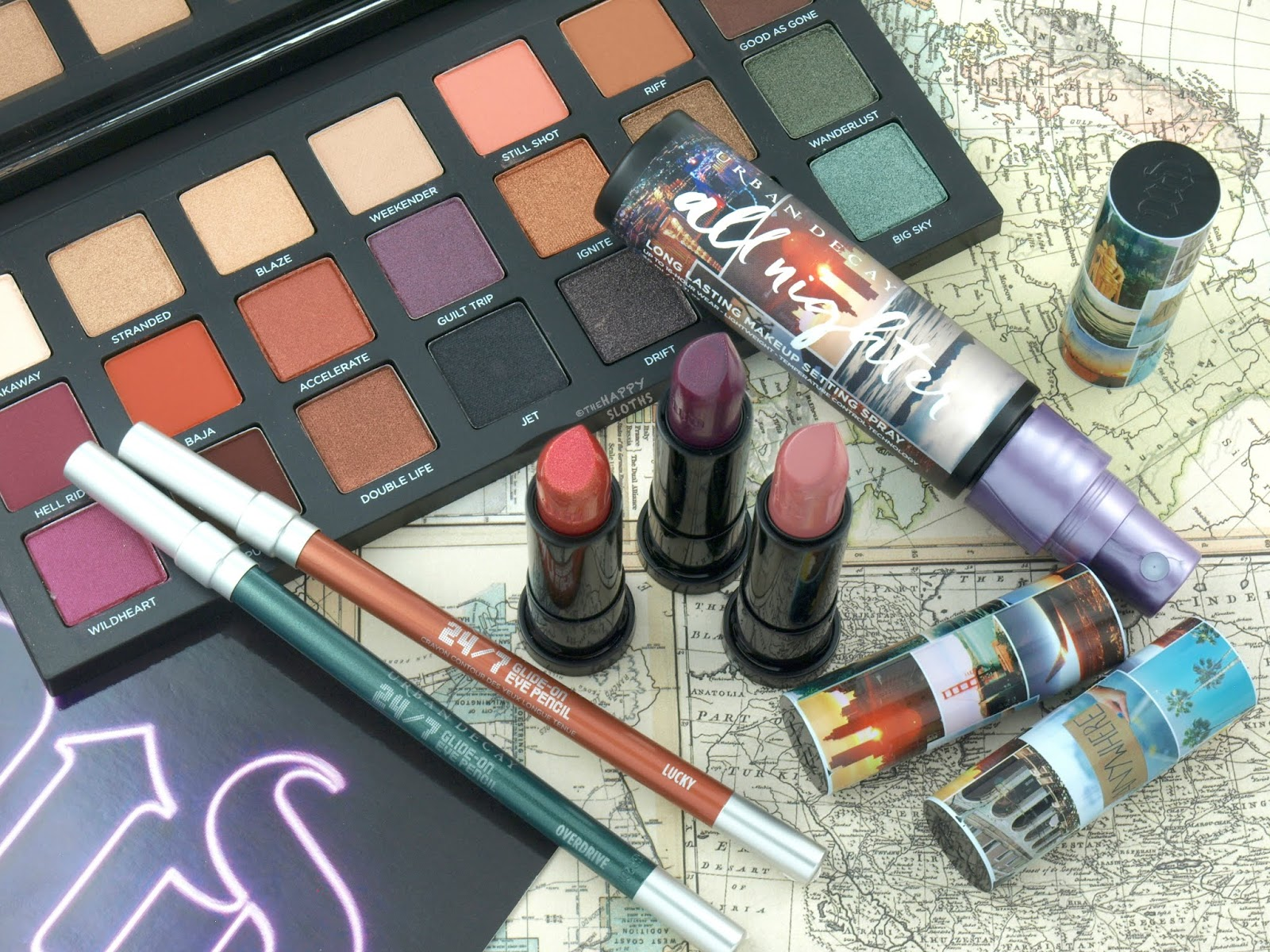 Urban Decay | Born to Run Collection: Review and Swatches