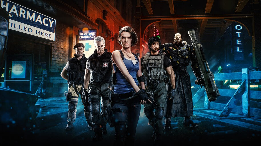Resident Evil 3, Remake, Characters, 4K, #7.1754