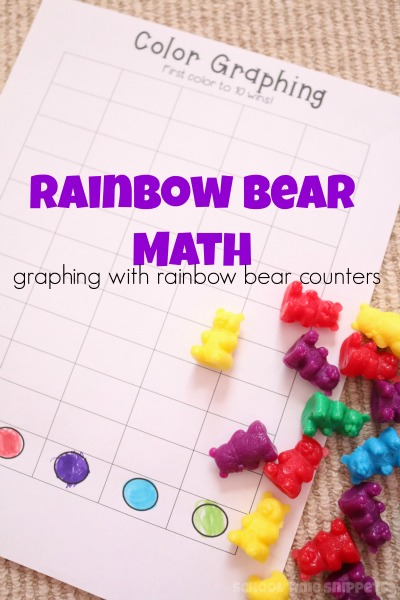 preschool graphing printable