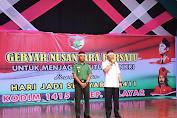 Merah Putih Warnai Pelaksanaan Gebyar Nusantara Bersatu Di Kab.Kep.Selayar