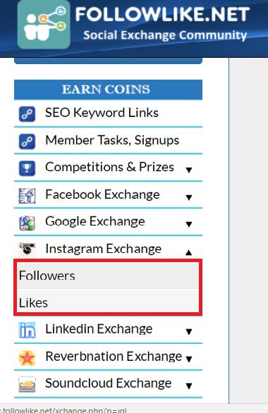mendapatkan koin dengan instagram