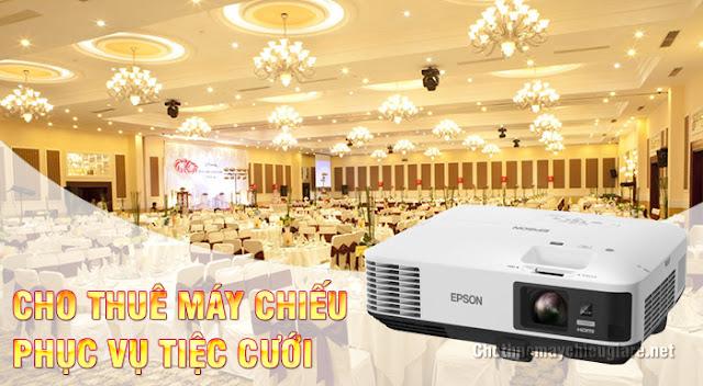 Trung tâm cho thuê máy chiếu đám cưới giá rẻ nhất TpHCM
