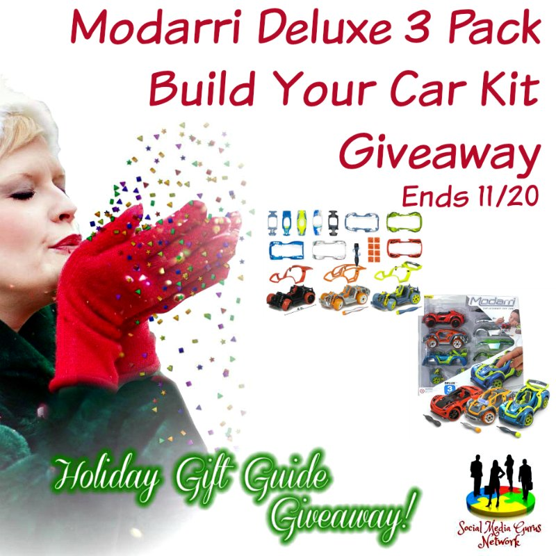 Modarri Deluxe 3 pack Build Your Car Kit