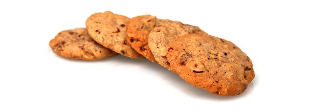 Cookies à la noisette et à la pralinoise
