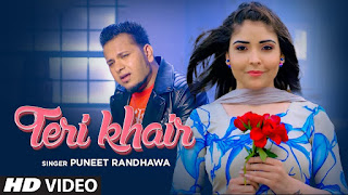 Presenting Teri Khair lyrics penned by Harjit Bahia whereas music given by Puneet Randhawa. Latest Punjabi song Teri khair is sung by Puneet Randhawa