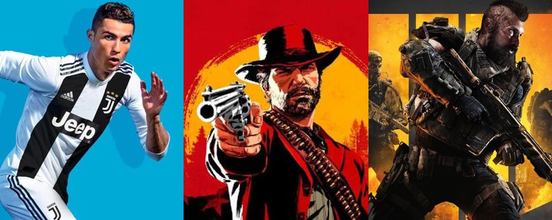 AEVI desvela los juegos más vendidos de Enero