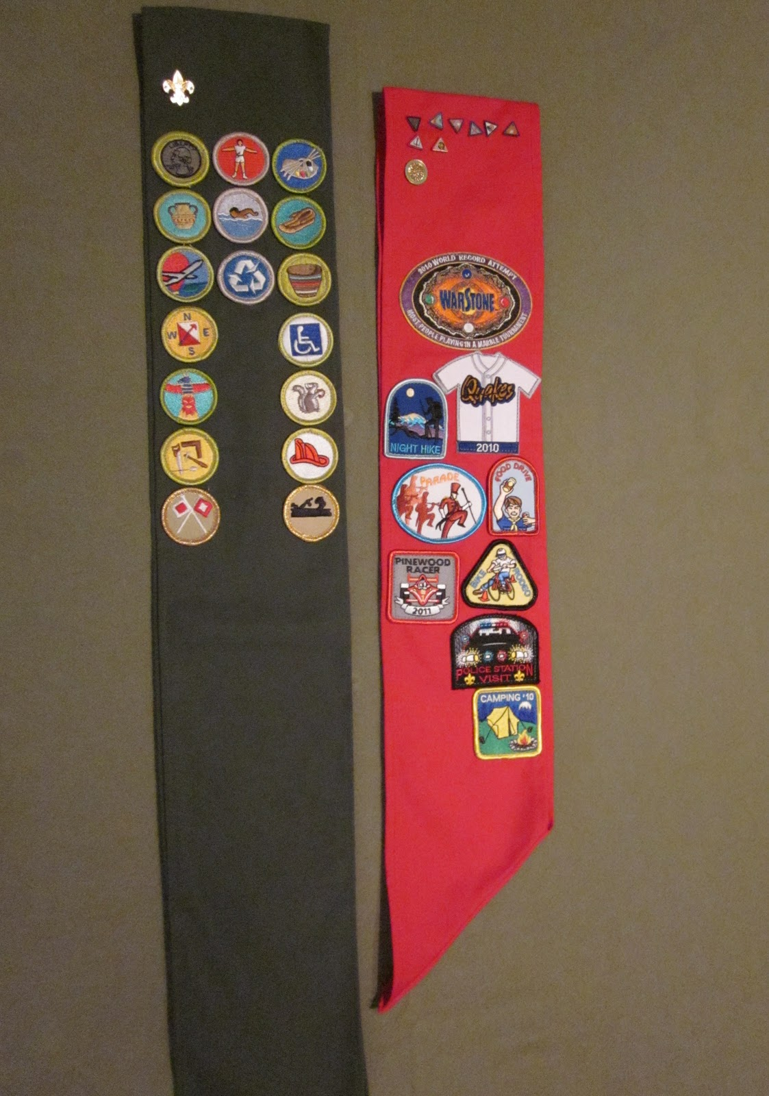 Brownie Sash Diagram 2003 Gmc Envoy Parts Do Something Creative Daily Cub Scout Patch Can