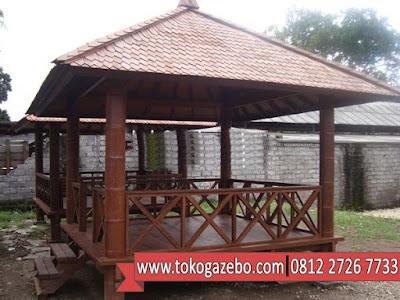 Gazebo Silang Glugu 3 x 3 Jepara