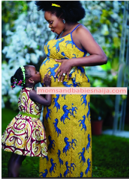 Image result for ankara maternity dresses