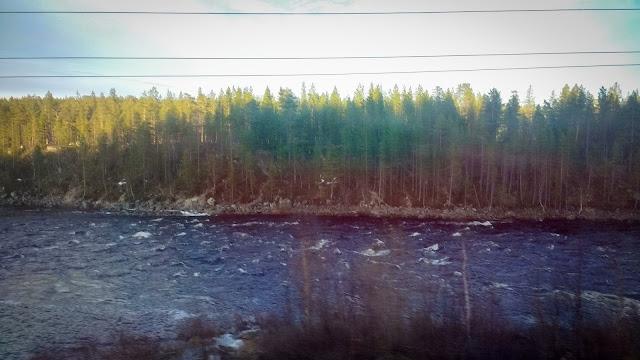 Kola River; Russia